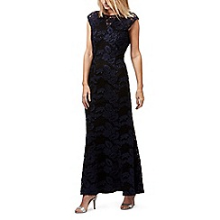 Jacques vert - Lace fitted maxi dress