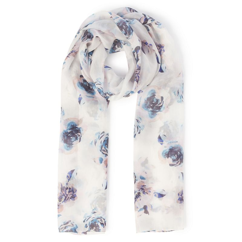 Eastex Montauk bloom silk scarf