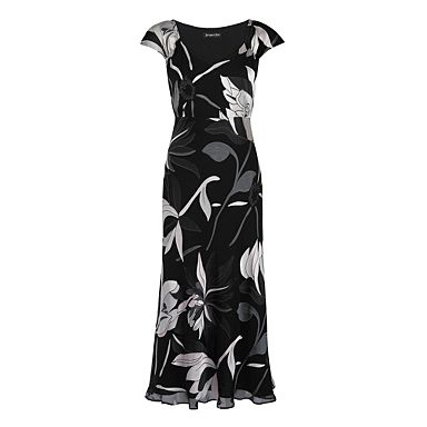 Lotus Blossom Devore Dress - Evening & party dresses - Dresses - Women -