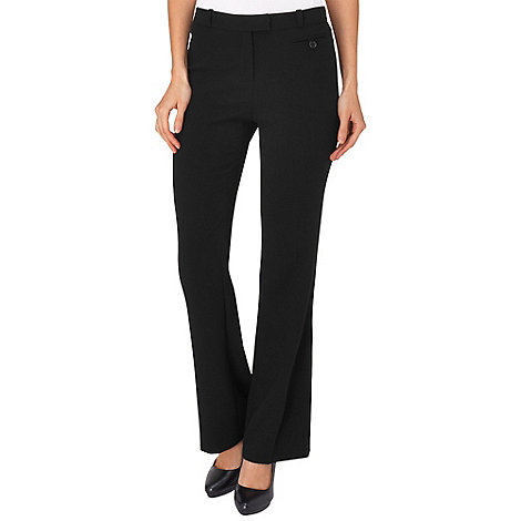 Phase Eight - Black briony bootcut trousers