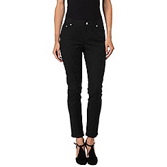 Phase Eight - Black jada jacquard jeans