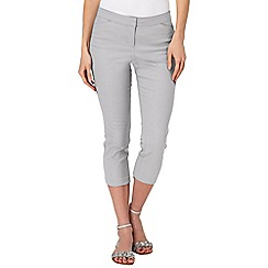 Phase Eight - Silver billie crop trousers