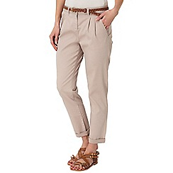 Phase Eight - Stone cady chino trousers