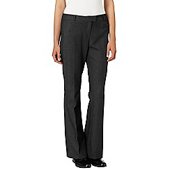 Phase Eight - Charcoal briony bootcut trousers