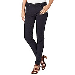 Phase Eight - Blue and black victoria jacquard skinny jeans