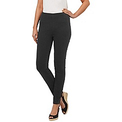 Phase Eight - Washed black amina darted jeggings