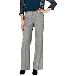 Phase Eight - Grey katie wide leg trousers