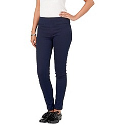 Phase Eight - Indigo and Black amina panelled jeggings