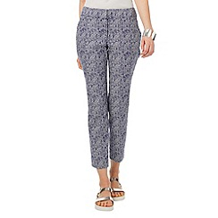 Phase Eight - Erica square print trouser
