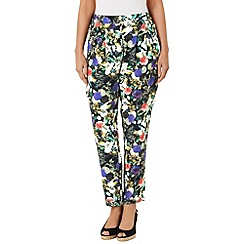 Phase Eight - Acacia printed soft trouser