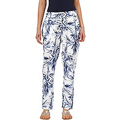 Phase Eight - Palm print soft trouser