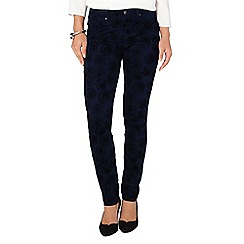Phase Eight - Ink victoria rose flock jeans