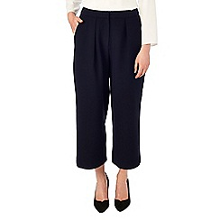 Phase Eight - Navy marissa wide leg 7/8th trousers