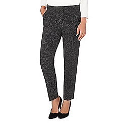 Phase Eight - Alexa spot jacquard trouser