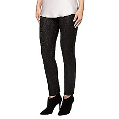 Phase Eight - Bonded lace ponte jegging