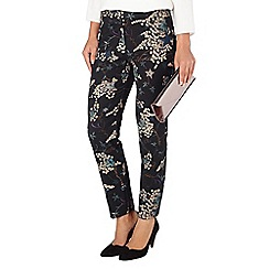 Phase Eight - Oriental print trouser