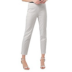 Phase Eight - Ivory Hollie Jacquard Trousers