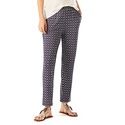 Phase Eight - Salma Geo Jersey Trousers