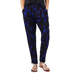 Phase Eight - Sacha Oriental Print Soft Trousers