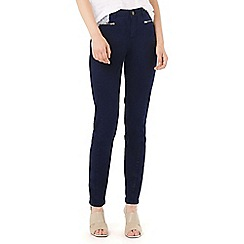 Phase Eight - Victoria Brushed Zip Jean