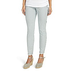 Phase Eight - Blue victoria vertical stripe jeans