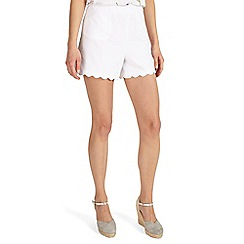 Phase Eight - Shelley scallop shorts