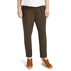 Phase Eight - Khaki Anita soft trousers