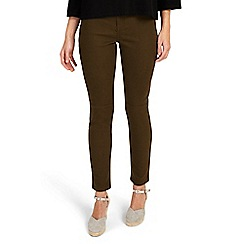 Phase Eight - Khaki Victoria seamed jeans