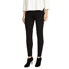 Phase Eight - Black liana slim leg trousers
