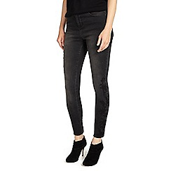 Phase Eight - Black embriodered jeans