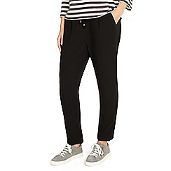 Phase Eight - Black jayne satin stripe trousers