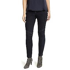 Phase Eight - Denim 7/8th seam biker jeans
