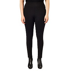 Studio 8 - Sizes 16-24 Black eleanor ponte jeggings