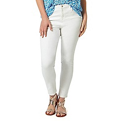 Studio 8 - Sizes 12-26 White janice jeans