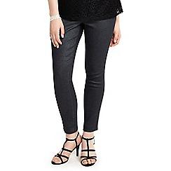 Studio 8 - Sizes 12-26 Black abbey glitter jeans