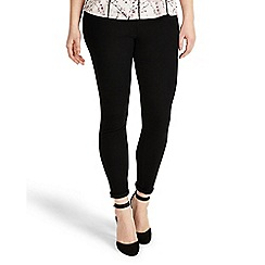 Studio 8 - Sizes 12-26 Black Jamie jeggings