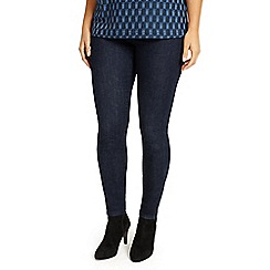 Studio 8 - Sizes 12-26 Indigo molly straight leg jeans