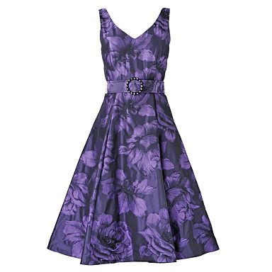 Purple Sasha Dress Evening party dresses Dresses Women from debenhams.com