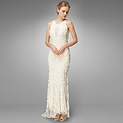 Phase Eight - Ivory Louisa Ribbon Tapework Wedding Dress