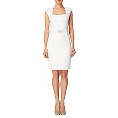 Phase Eight - White Jane Dress