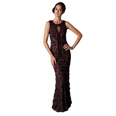 Phase Eight - Collection 8 oxblood lexy full length dress