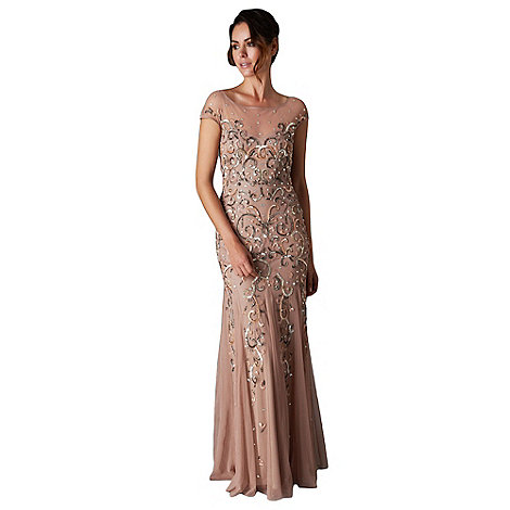 Phase Eight - Blush nina sequin jewelled dress