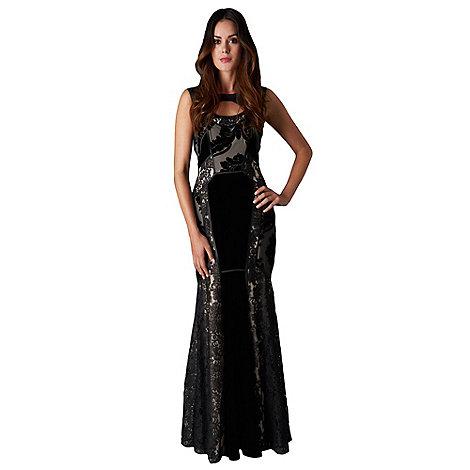 Phase Eight - Collection 8 black dulciana full length dress