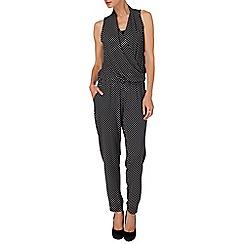 Phase Eight - Black and Ivory lulu geo print jumpsuit
