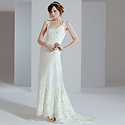 Phase Eight - Pearl peony wedding dress