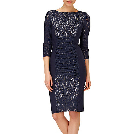 Phase Eight - Navy stephania dress