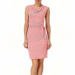 Phase Eight - Poppy and White olivia stripe dress