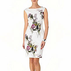Phase Eight - Oyster ida rose dress