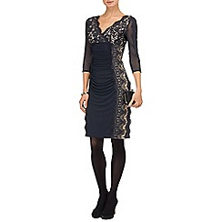 Phase Eight - Charcoal marissa lace dress