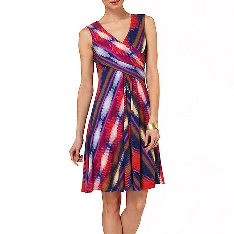 Phase Eight - Multi-coloured clemence chevron dress